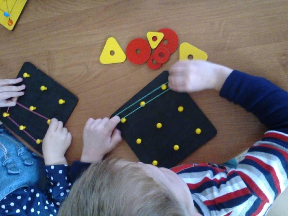 Игры с математическим планшетом.
