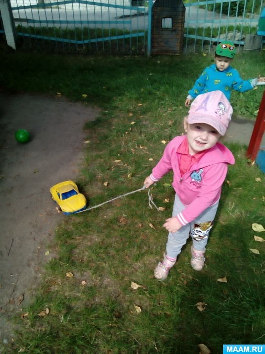 Развивающие игры с машинками для детей 1,5–3 лет