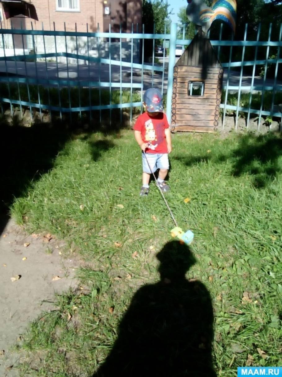 Занятие с ребенком 3 года с машинками