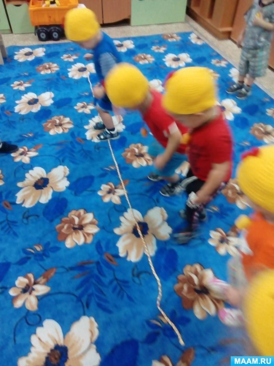 Развитие двигательной активности ребенка раннего возраста