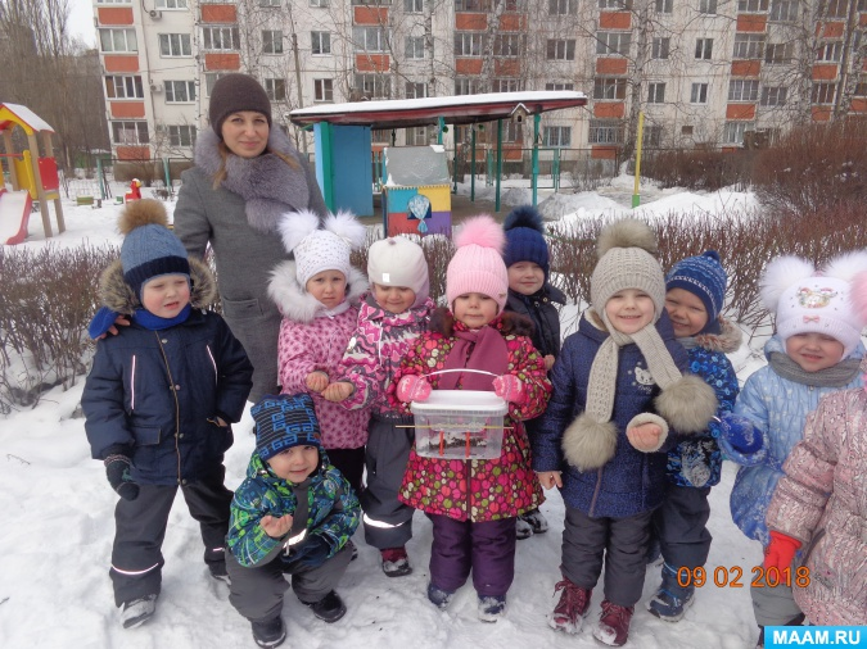 Реализация экологического проекта «Покормите птиц зимой!»