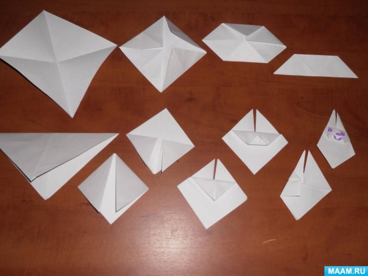 Конструирование из бумаги «Пасхальный заяц»