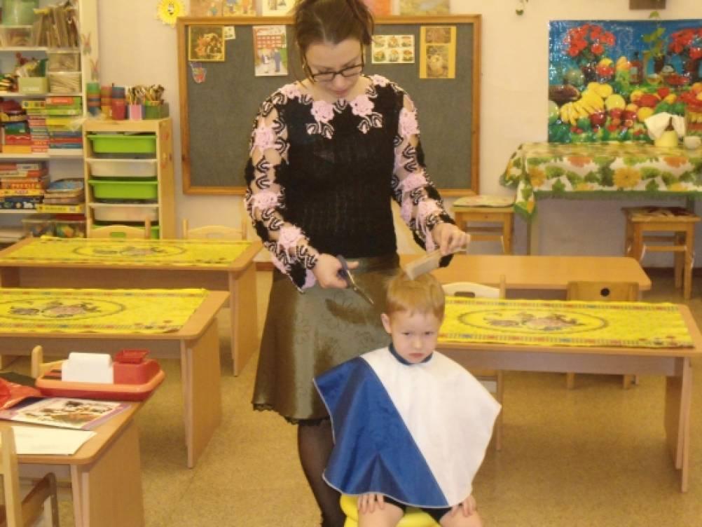 знакомство детей с профессиями игры