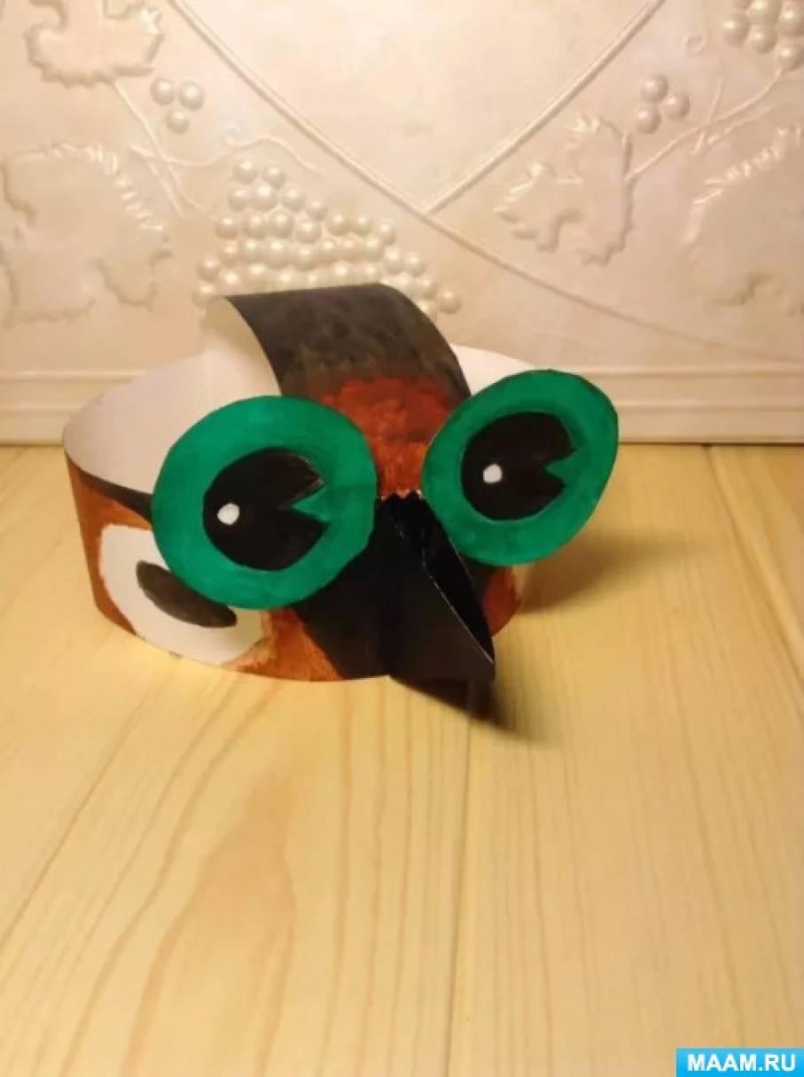 Воробей маска своими руками 87