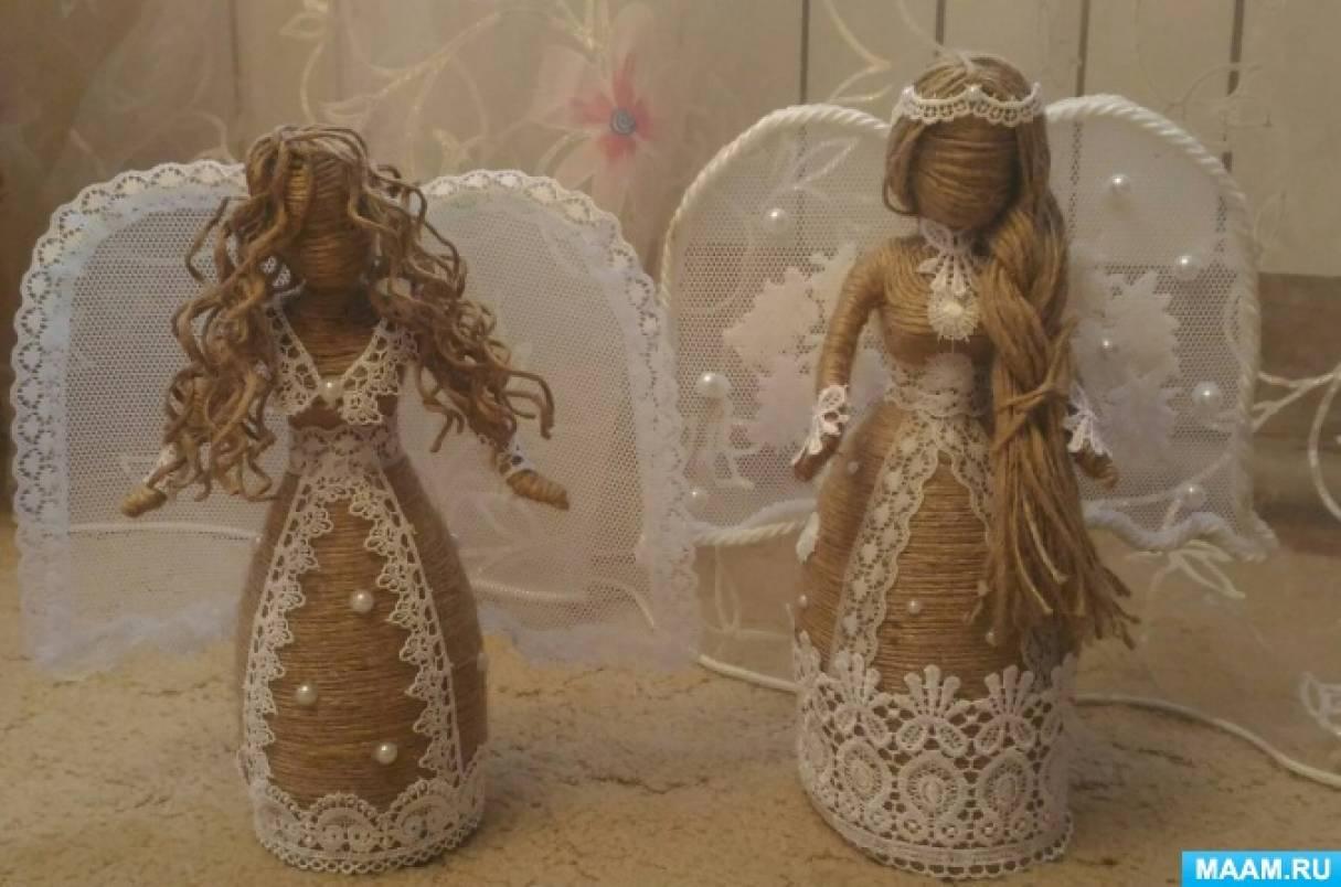 Куклы из джута своими руками 69