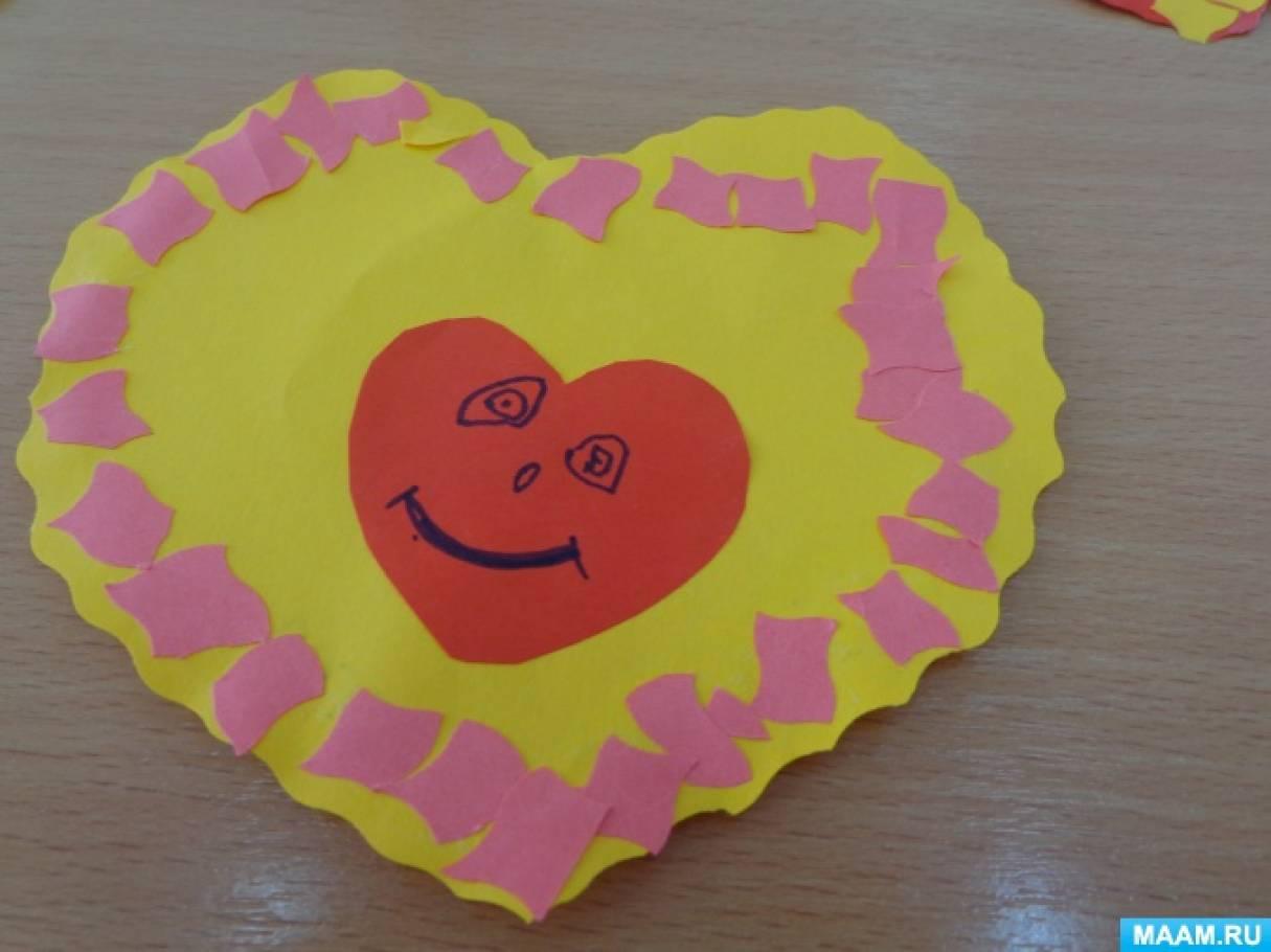 Детский мастер-класс «Наши валентинки»