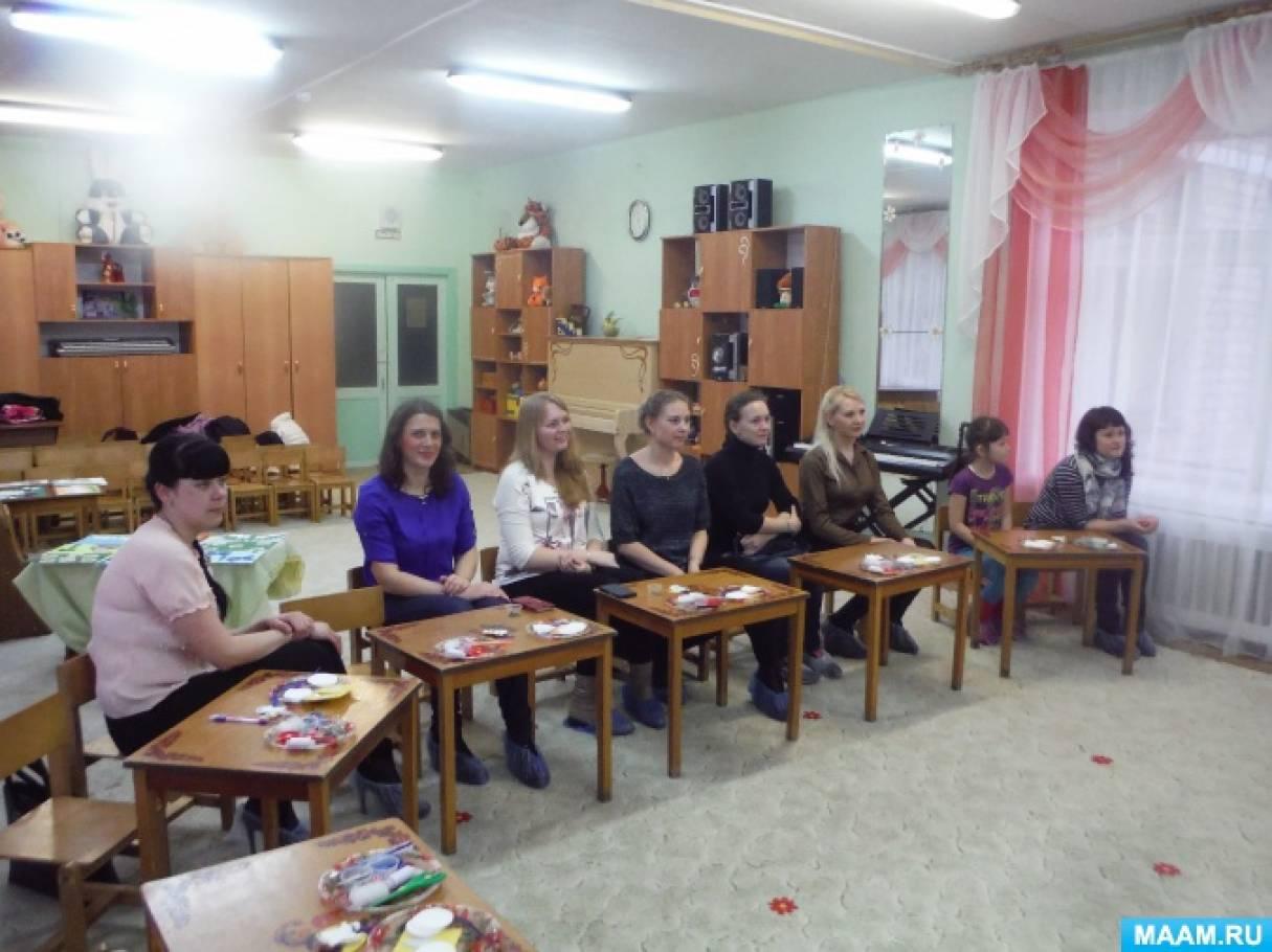 Мастер класс для родителей по изготовлению «Ангелочка» из ватных дисков (фотоотчет)