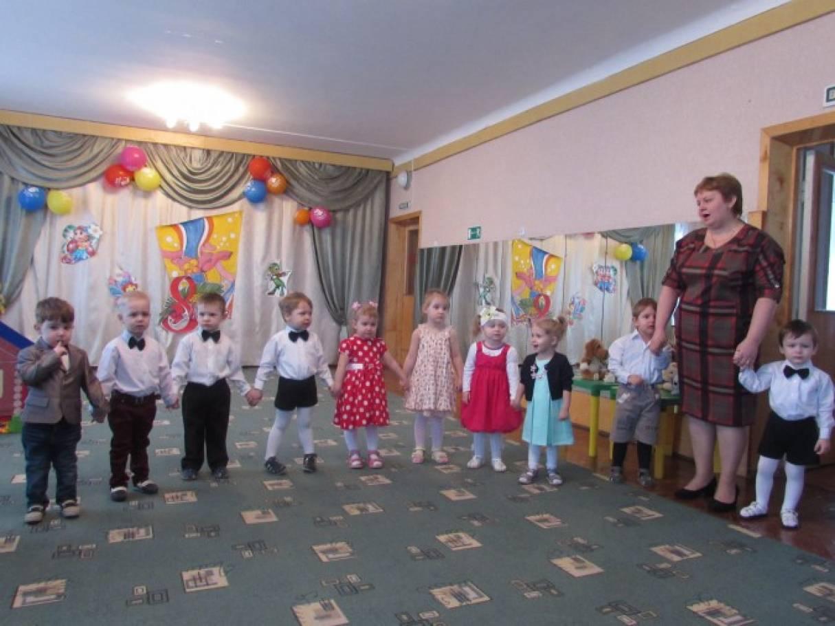 Фотоотчёт праздника с детьми раннего возраста «Найди маму»
