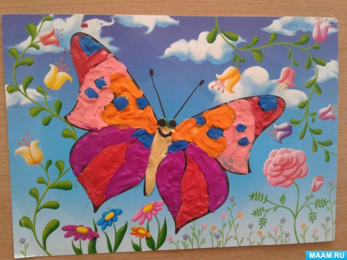 Пластилинография в детском саду «Бабочка»
