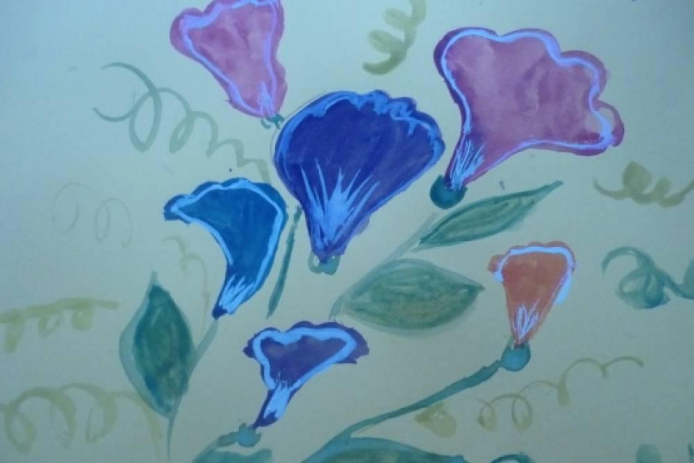 Рисунок для мамы цветы для мамы