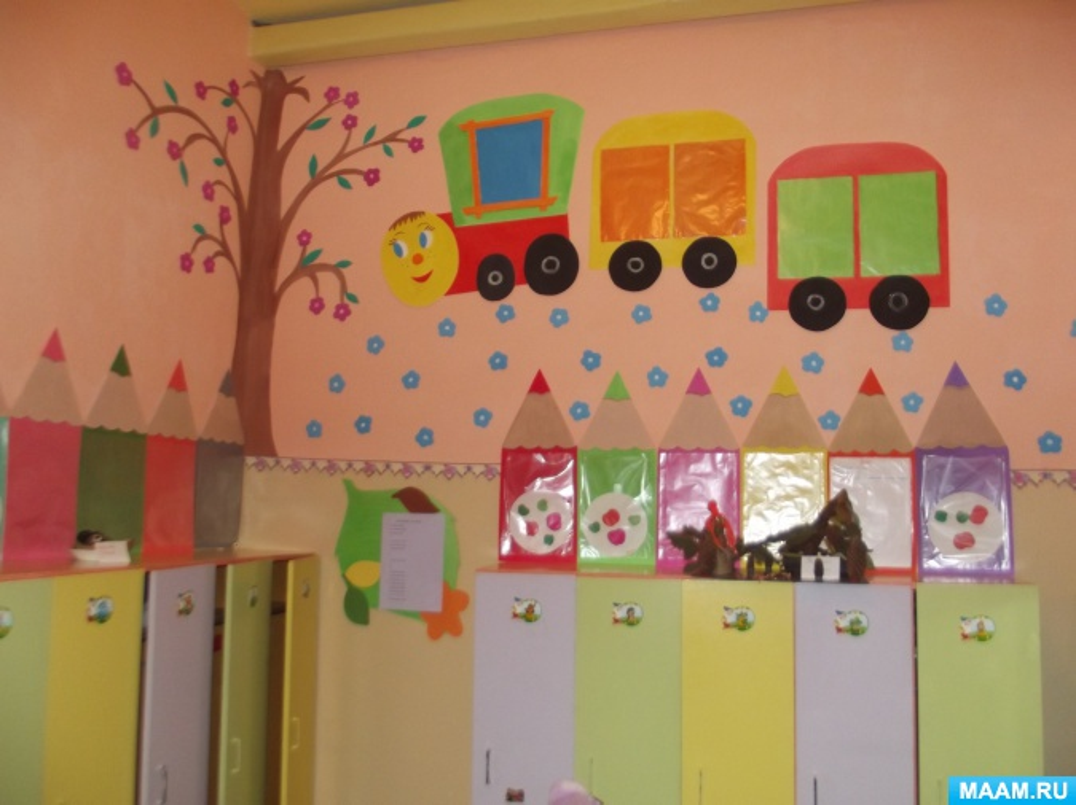 Оформление приёмной в детском саду своими руками фото 71