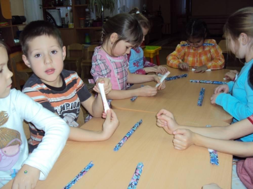 знакомство детей с творчеством народов поволжия