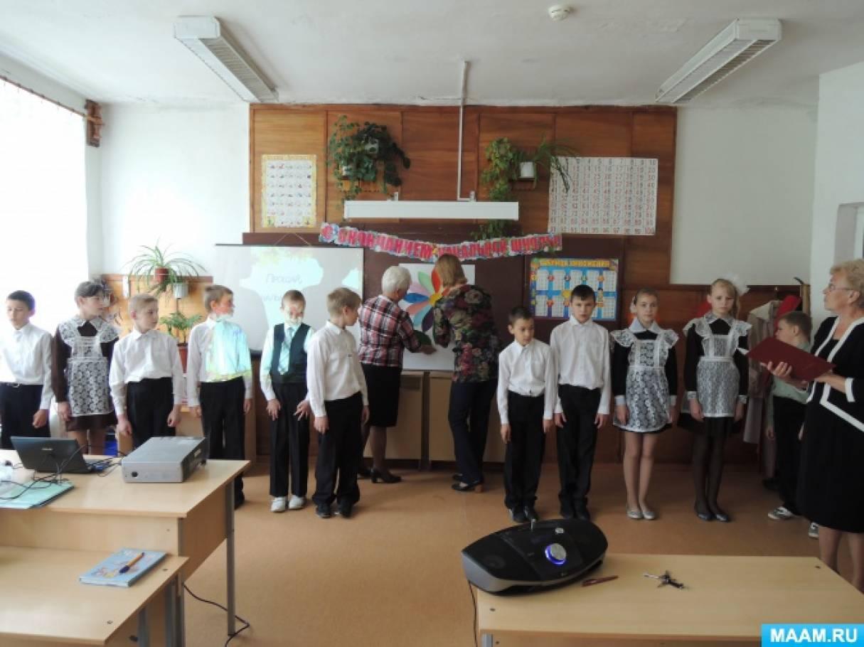 Сценарий праздника песни в начальной школе