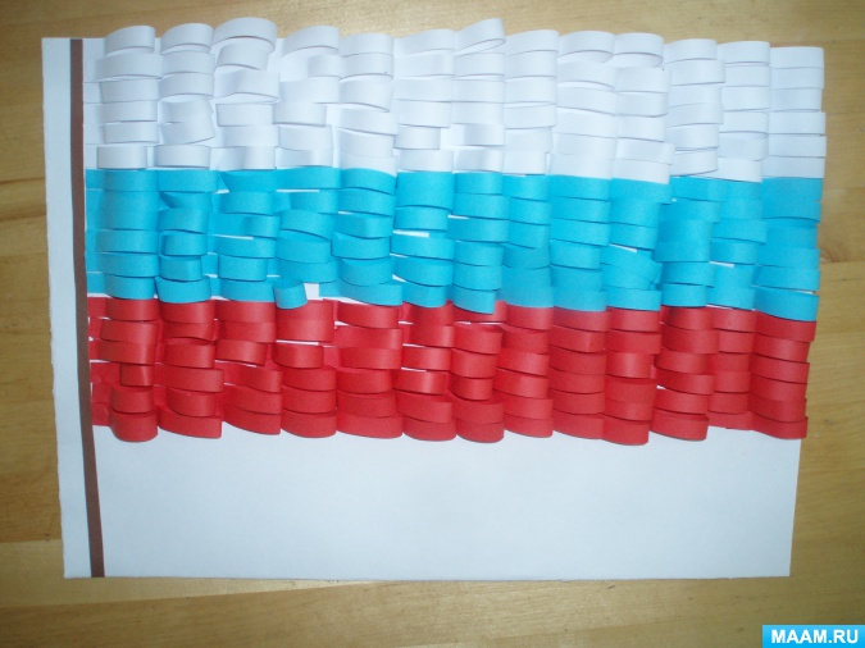 Мастер-класс «День государственного флага России»