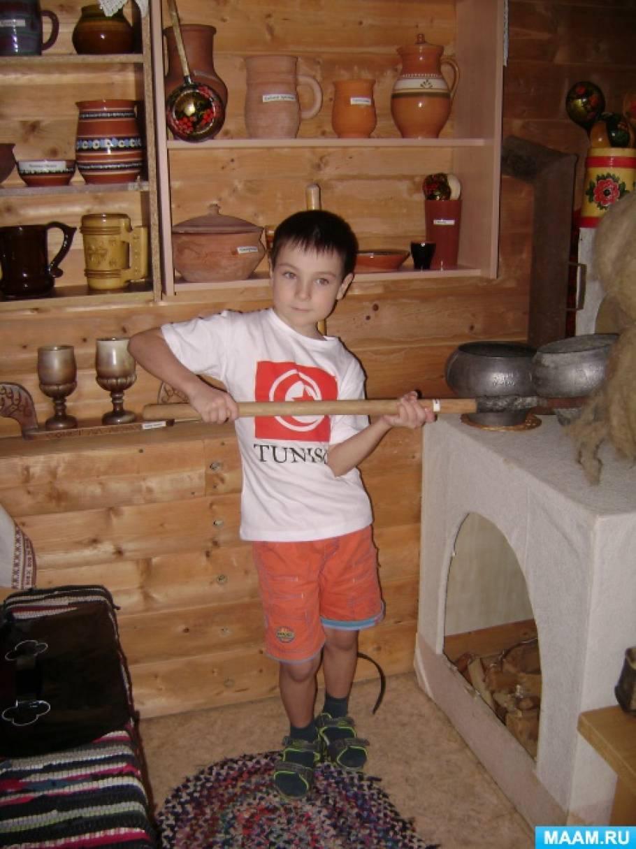Исследовательский проект дошкольника «Что такое ухват?» для старшего дошкольного возраста