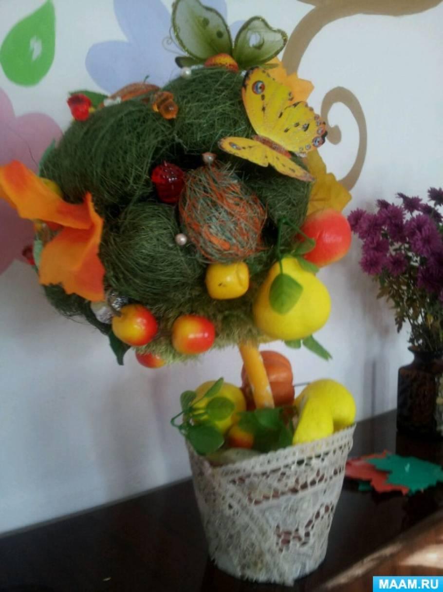 Топиарий для осеннего настроения «Осень, осень, не спеши!»