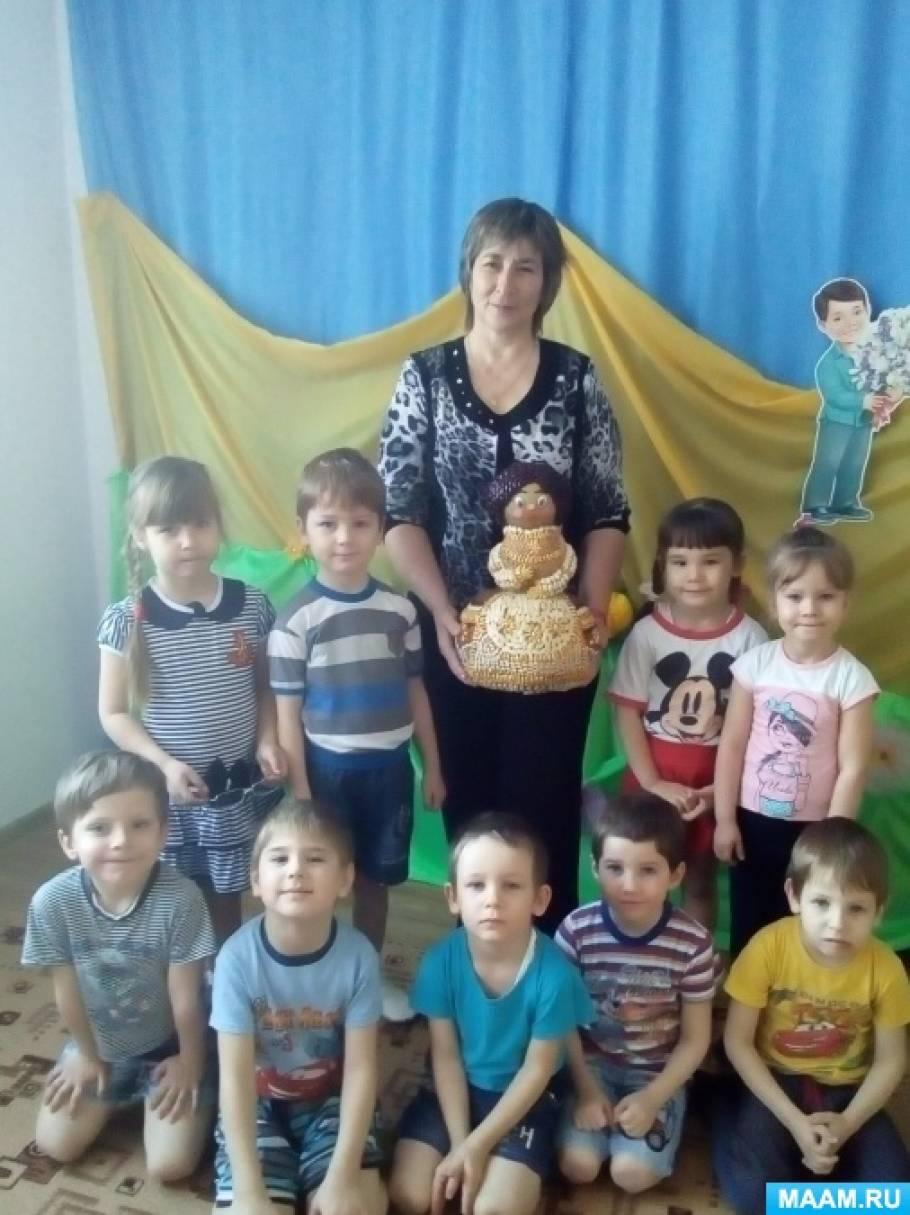 Детский мастер-класс «Изготовление дидактического пособия «Казачка Надя. Зерновые культуры Кубани»