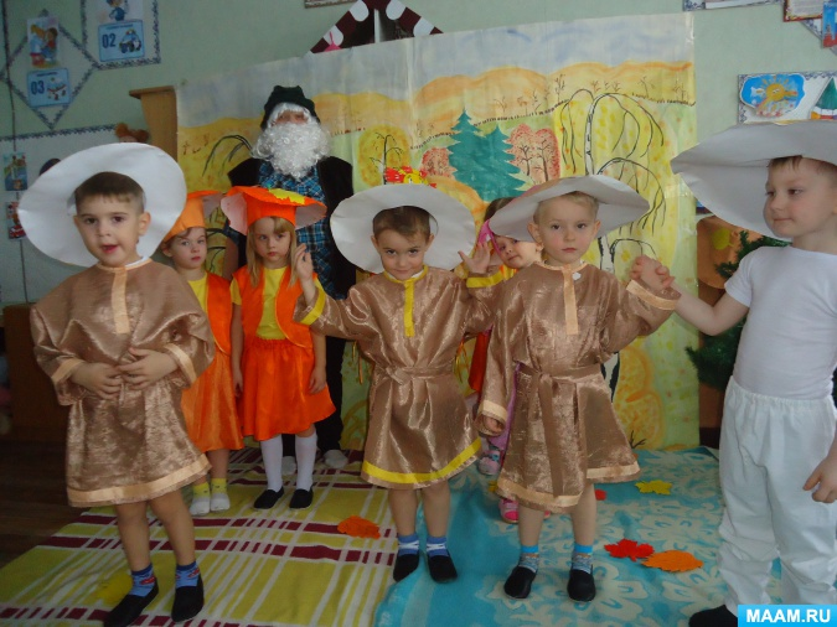 Непосредственно образовательной деятельности во второй младшей группе «Ах грибы, грибочки»