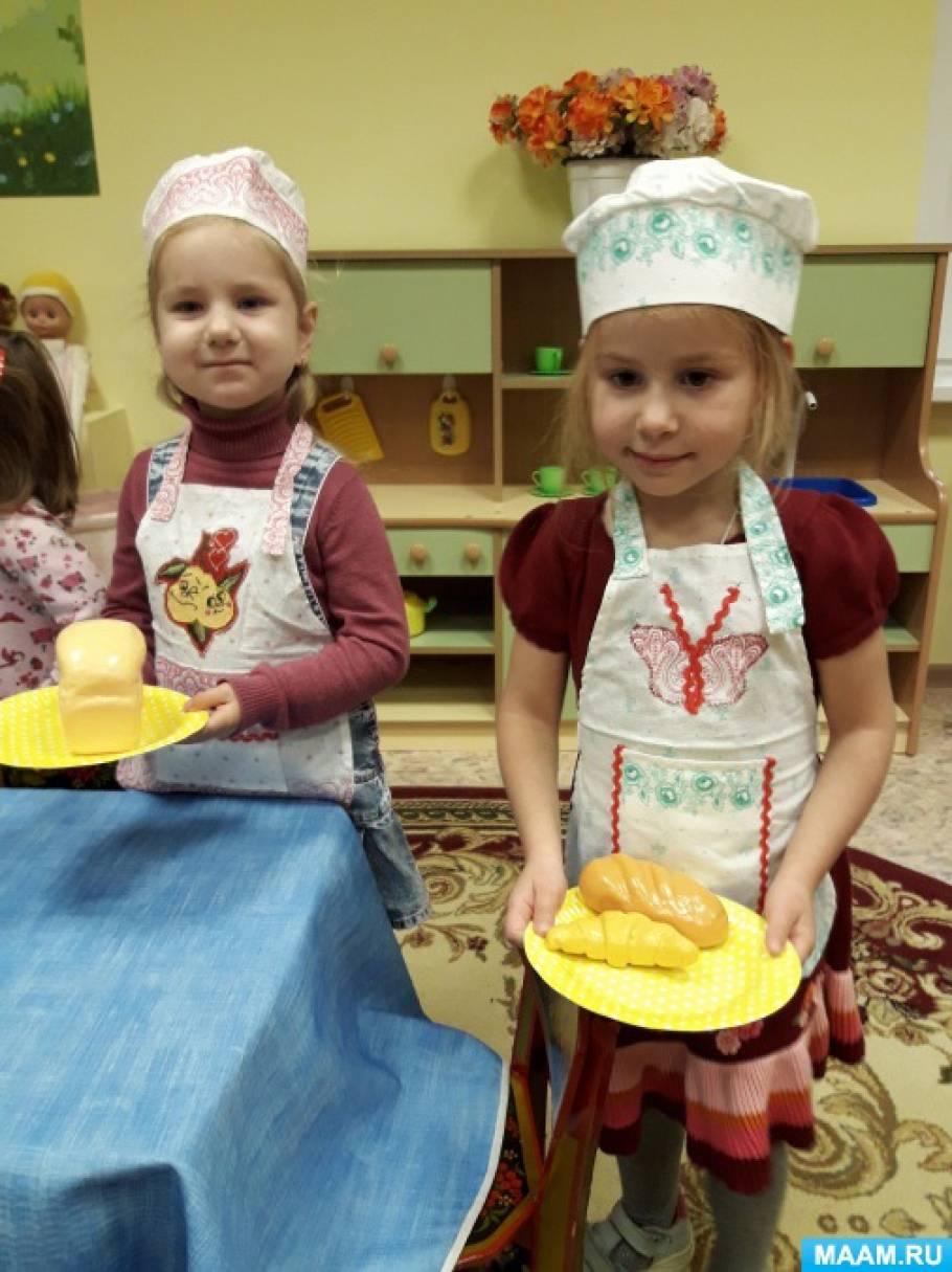 Фотоотчет «Как малыши вдохновились темой «Хлеб»