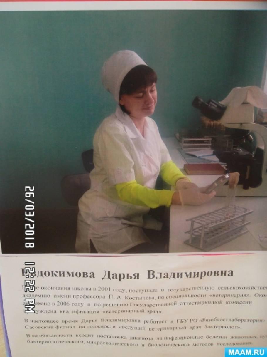Лэпбук «Профессия ветеринар»