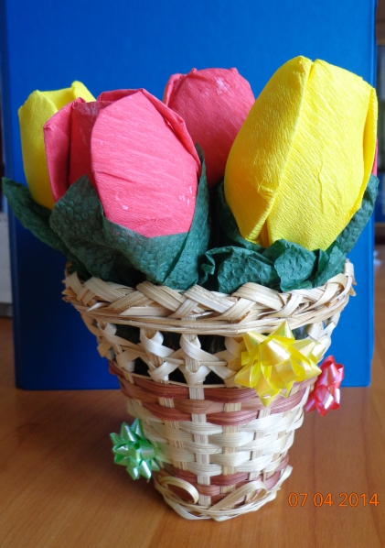 «Первые весенние цветы» — замечательный букет для любимой мамочки