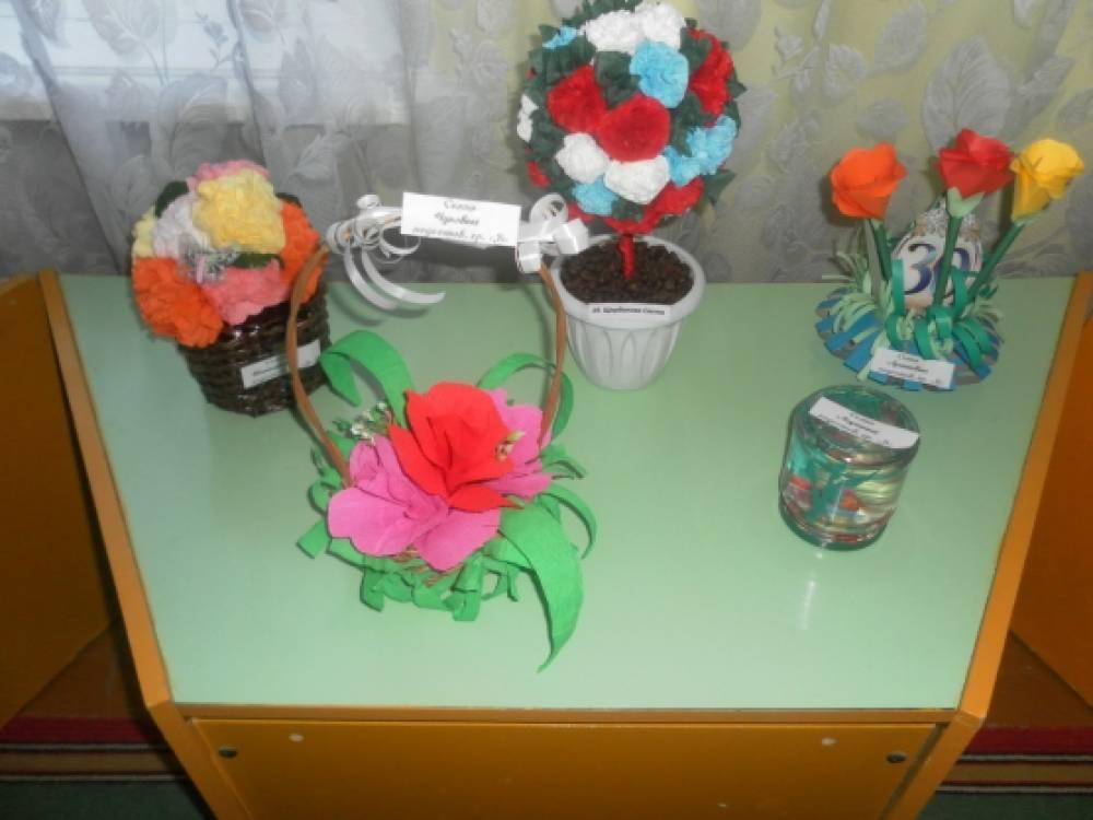 Подарок садику на юбилей своими руками доставка цветов по городу гродно