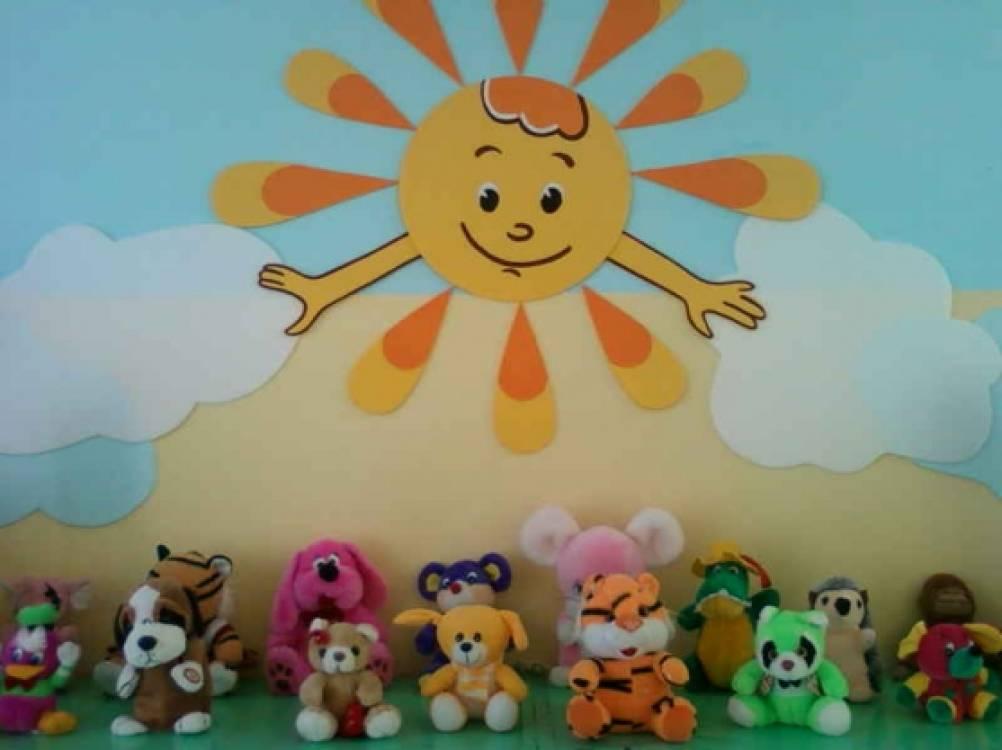 Все своими руками из потолочной плитки в детском саду 1