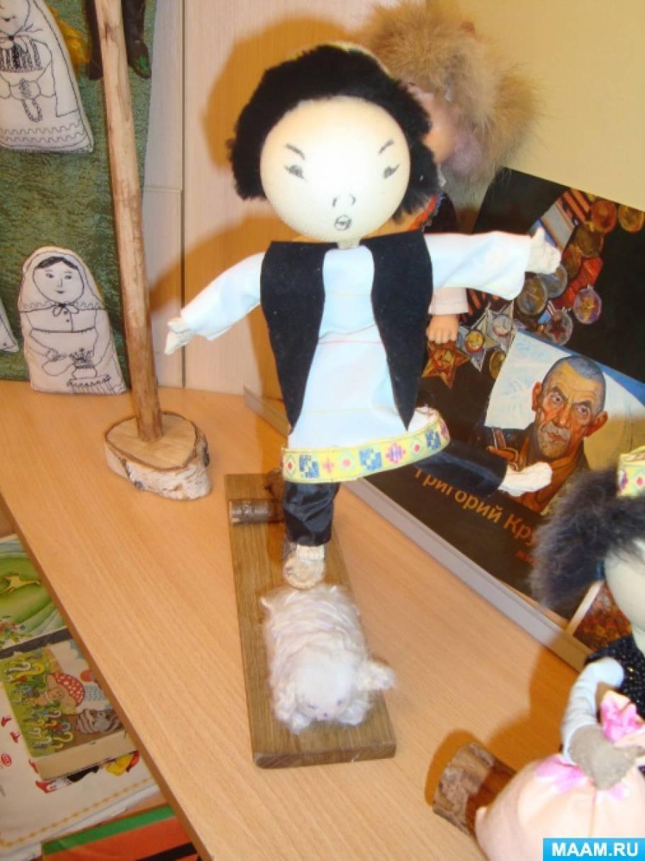 Мастер-класс по изготовлению национальной башкирской каркасной куклы