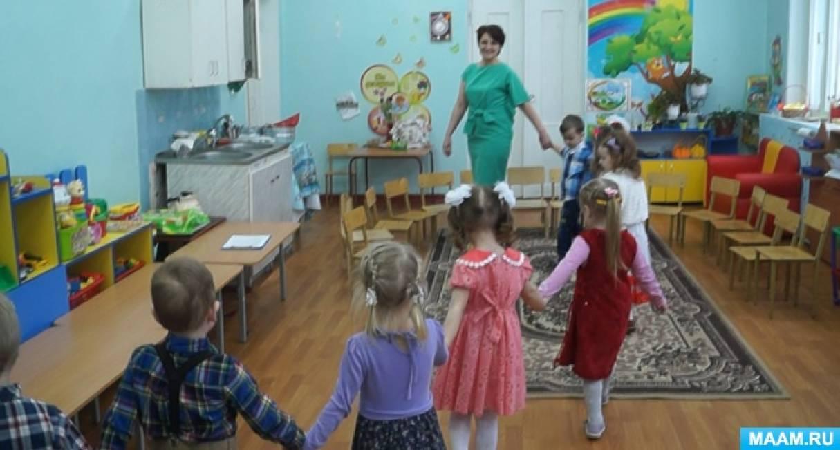 Фотоотчёт открытой ООД по речевому развитию «Весна на празднике мам» (младшая группа)