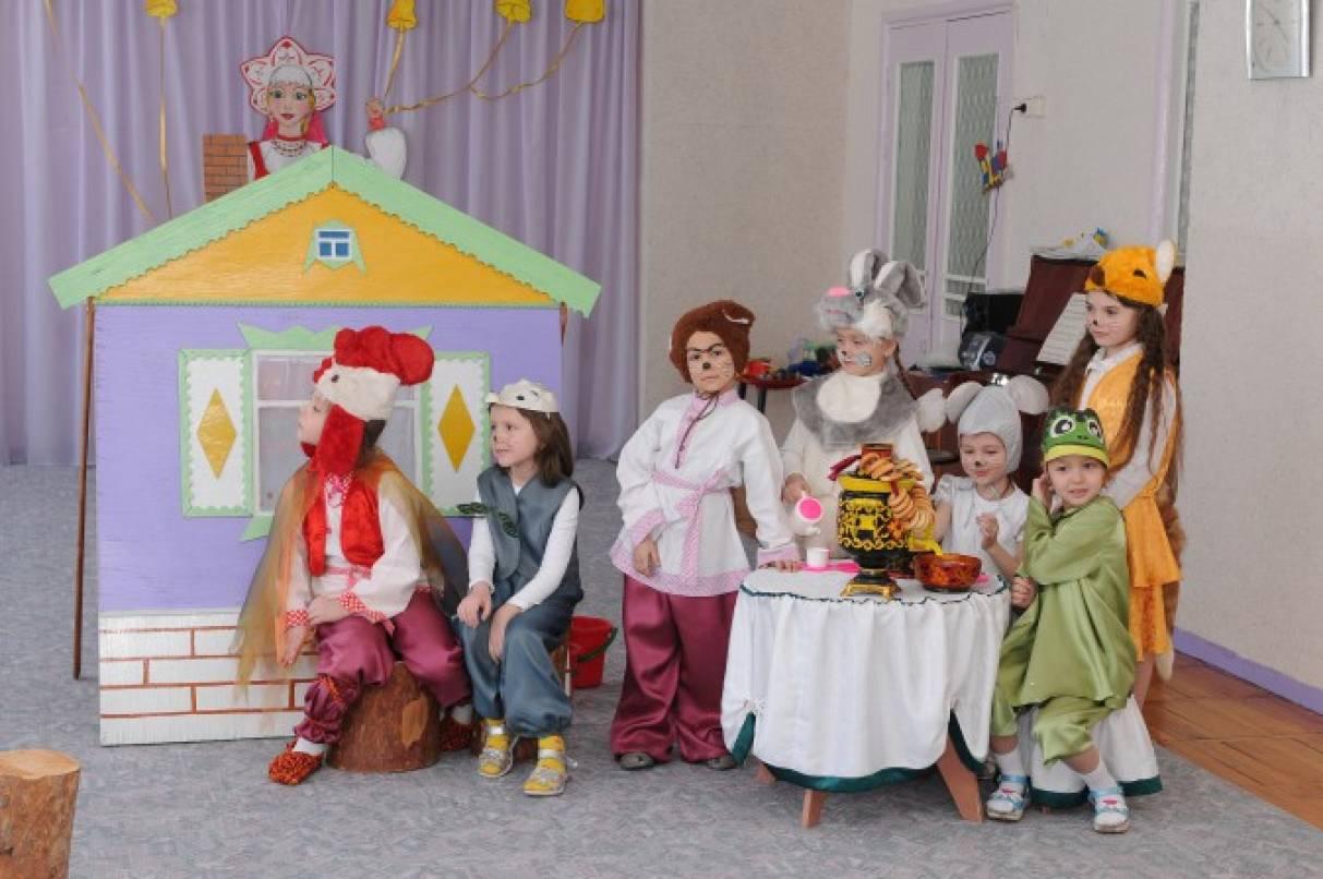 Картинки для детей театрализованная деятельность, персонажами мультфильмов
