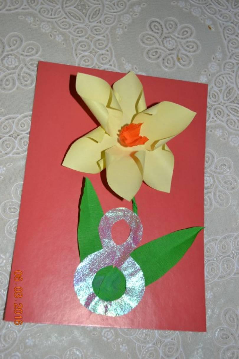 Открытка для бабушки 8 марта мастер класс, снежинок телефон 240х320
