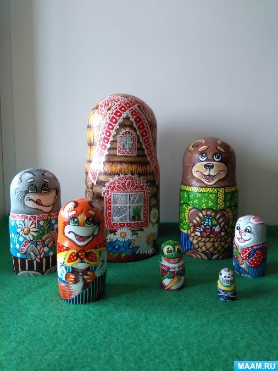 Мастер-класс «Кукольный театр в матрёшке»
