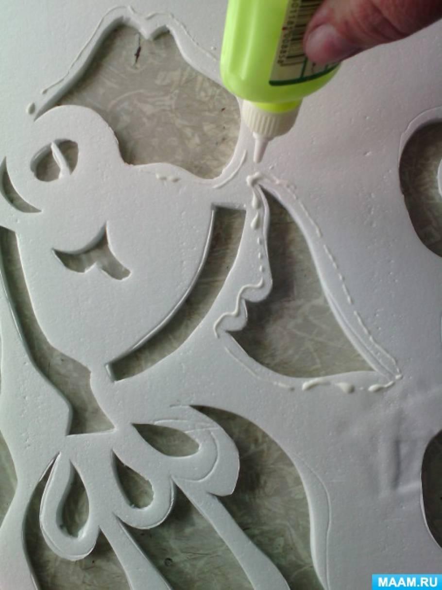 Поделки на потолочных плитках 93