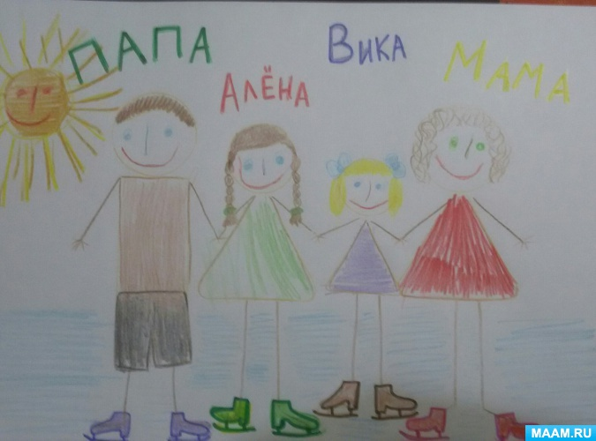 Проект во второй младшей группе «Увлечения моей семьи»