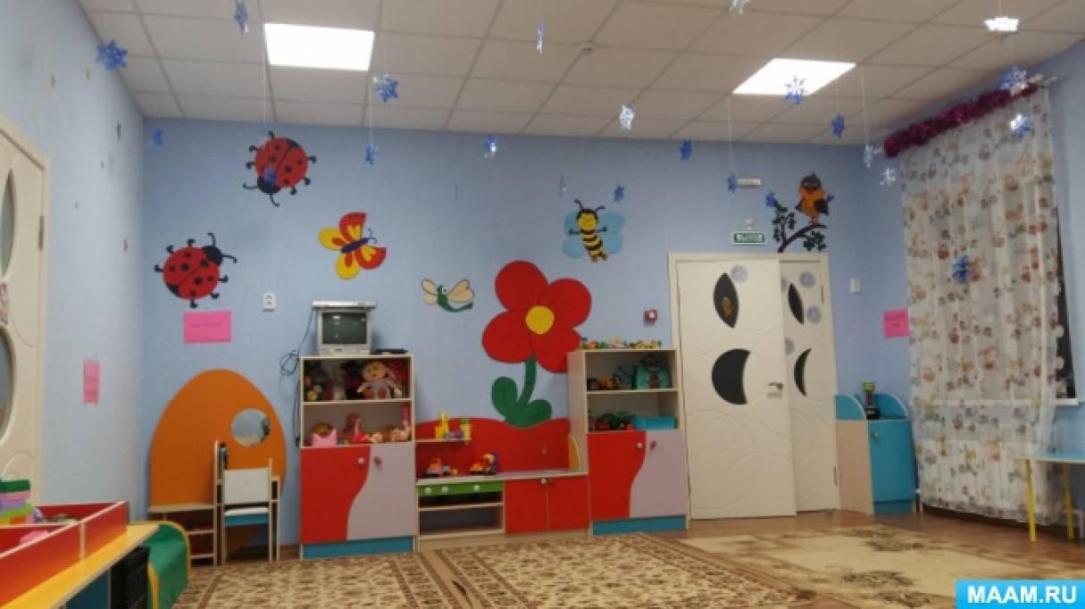 знакомство с хохломой в детском саду