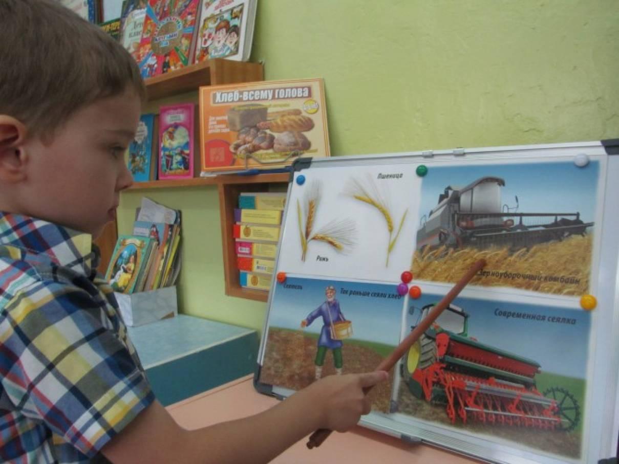 знакомство с сельскохозяйственными профессиями в детском саду