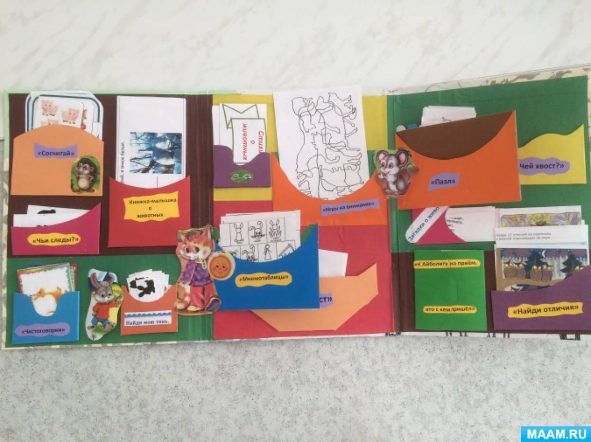 Лэпбук в детском саду своими руками по развитию 26