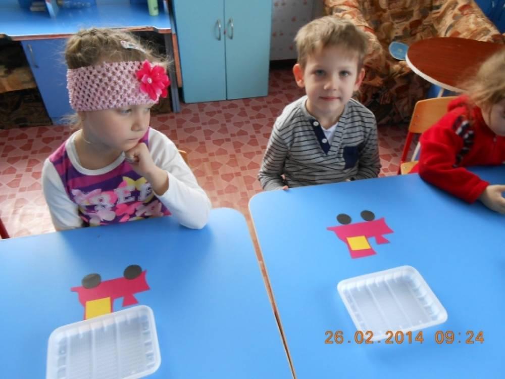 знакомство с профессиями в детском саду младшая группа