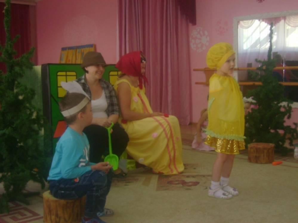 знакомство с видами театра для детского сада