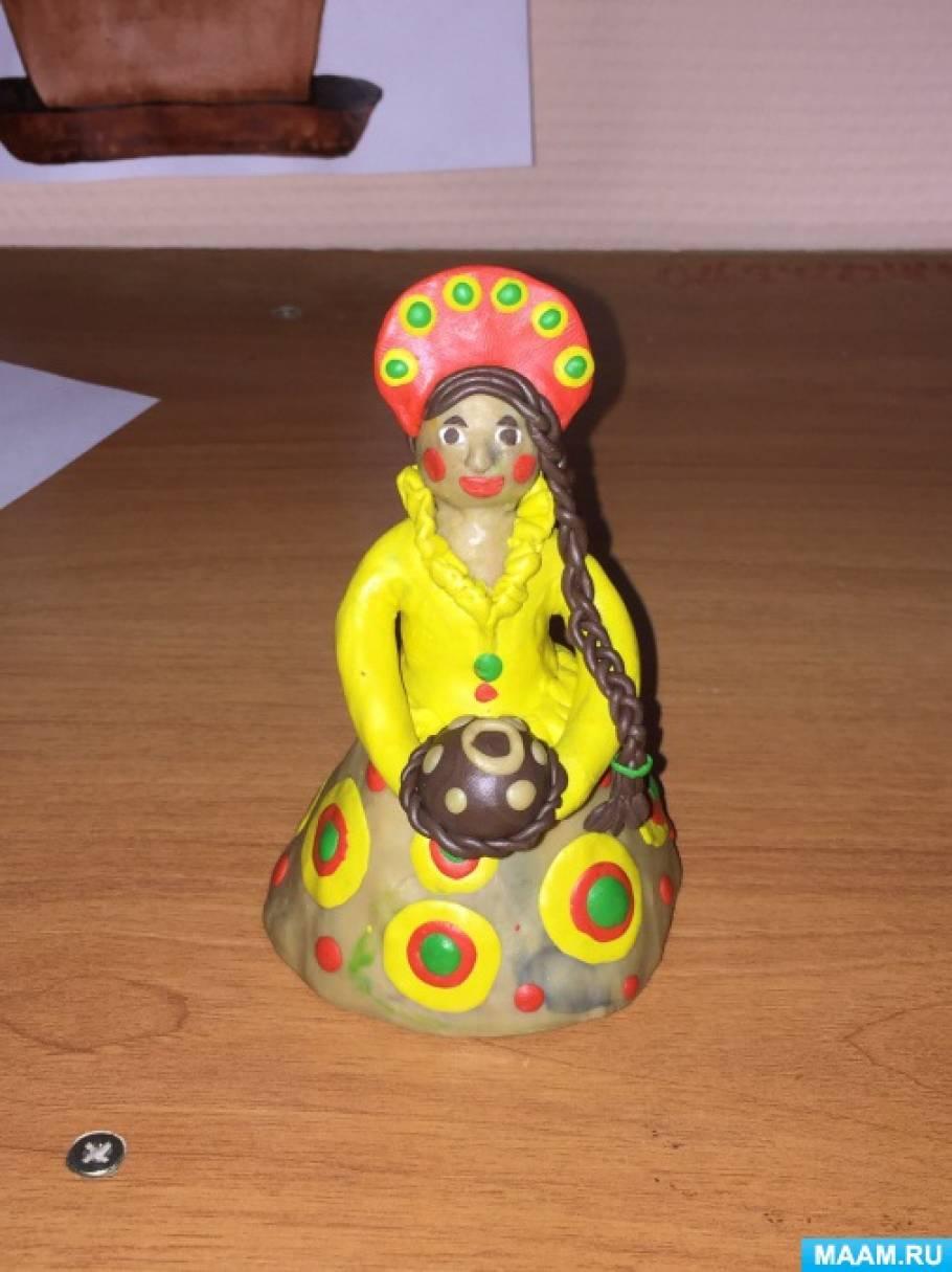 знакомство с дымковской игрушкой средняя группа