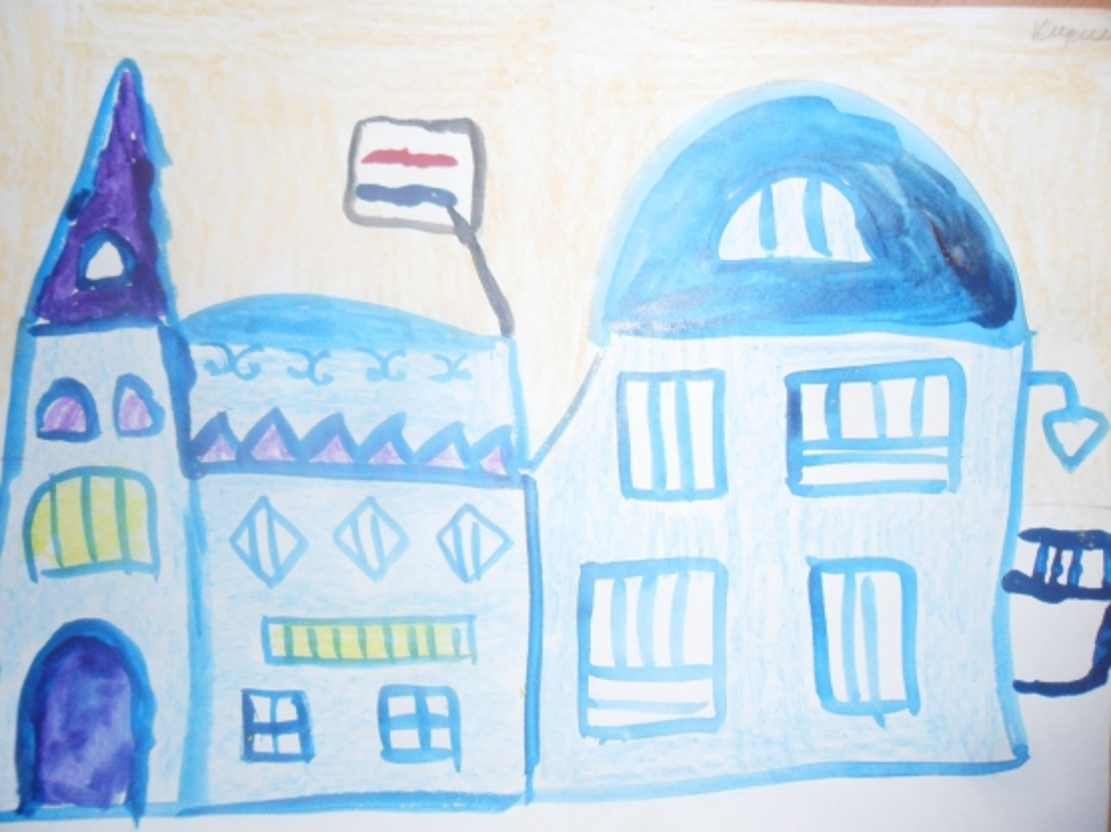 Фотоотчёт детского творчества «Где живёт Дедушка Мороз?»