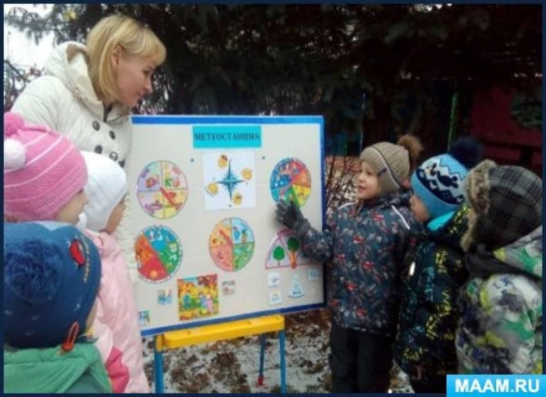 Экологический проект «Юные метеорологи»