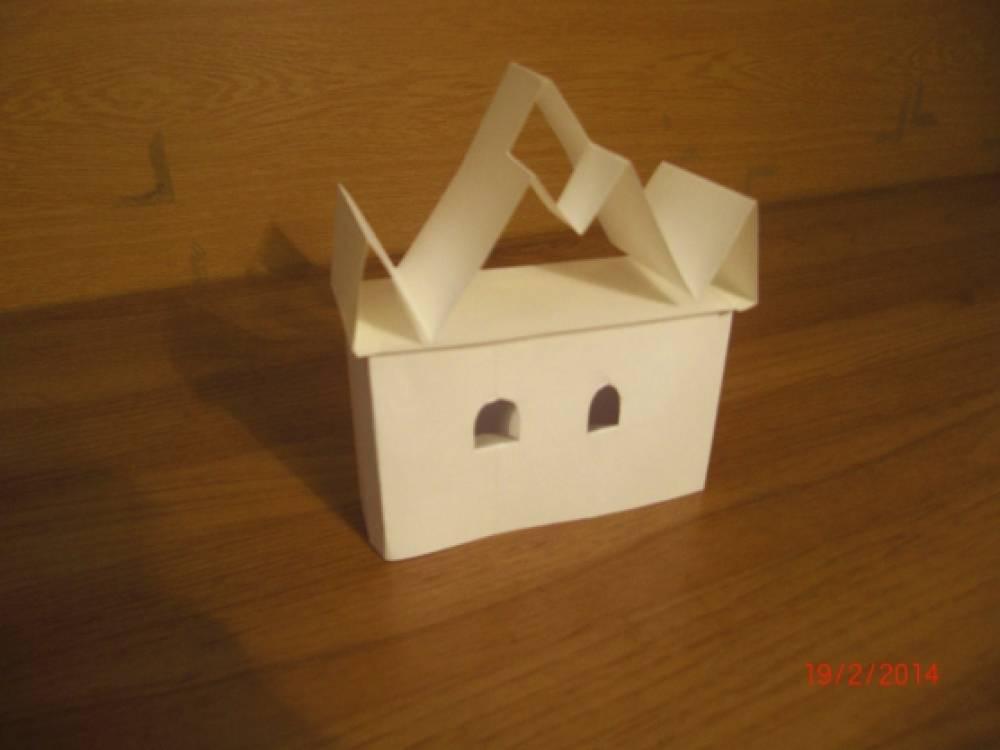 «Строим бумажный город».