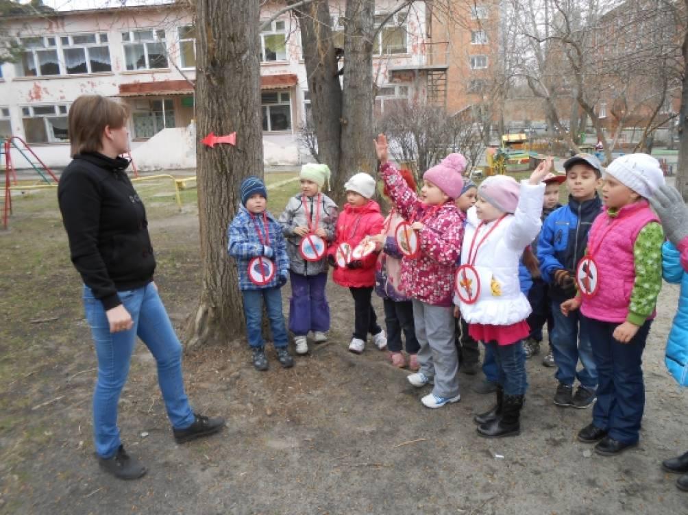 Развитие экологической культуры у детей дошкольного возраста. Экскурсия в весенний лес с детьми подготовительной группы