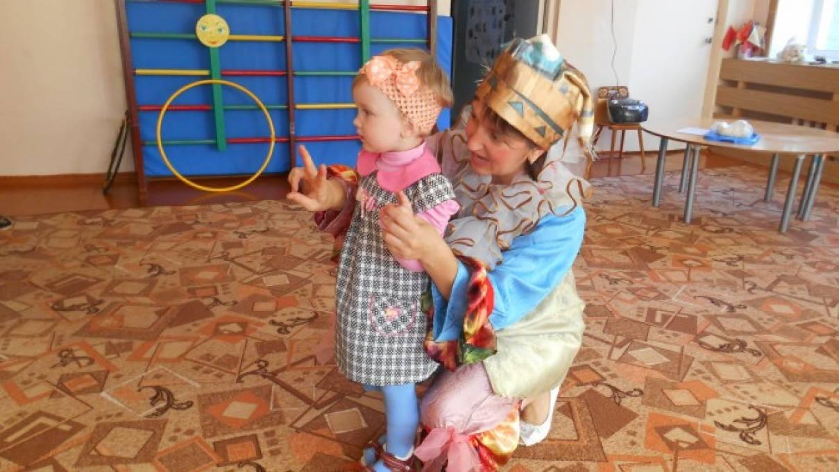 День рождения в первой младшей группе детского сада по мотивам сказки «Репка»