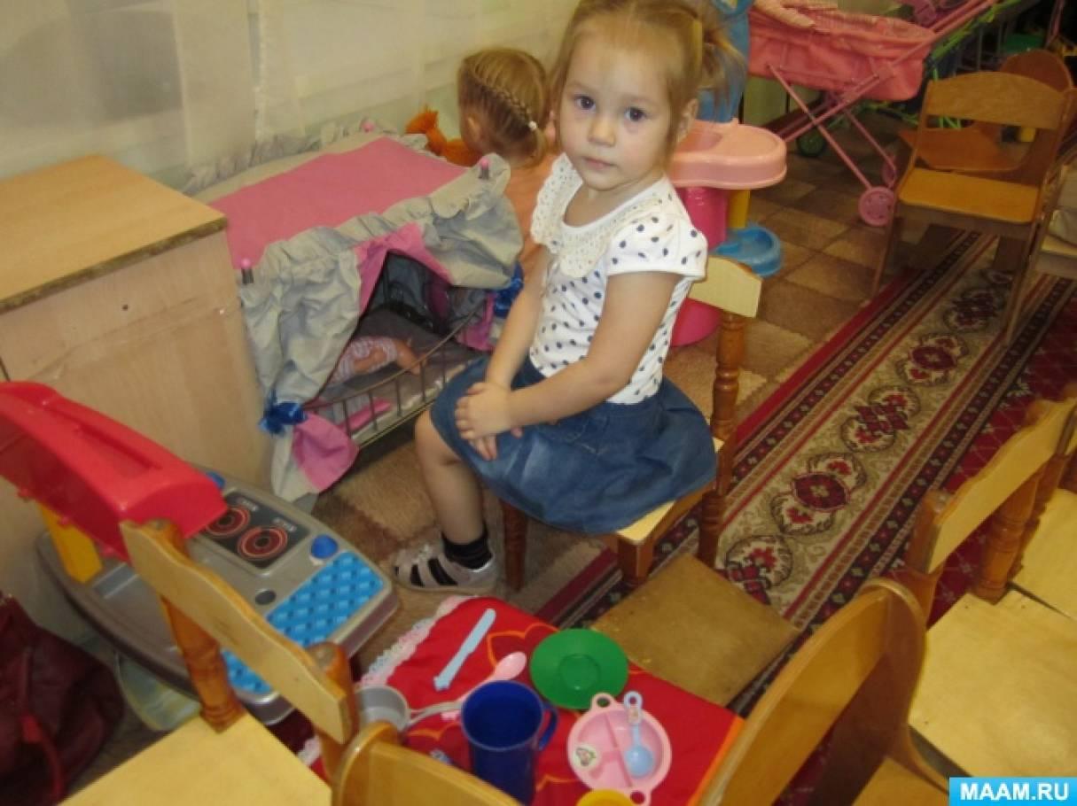 Методическая разработка плана недели «Мамы и детки» (младшая группа)