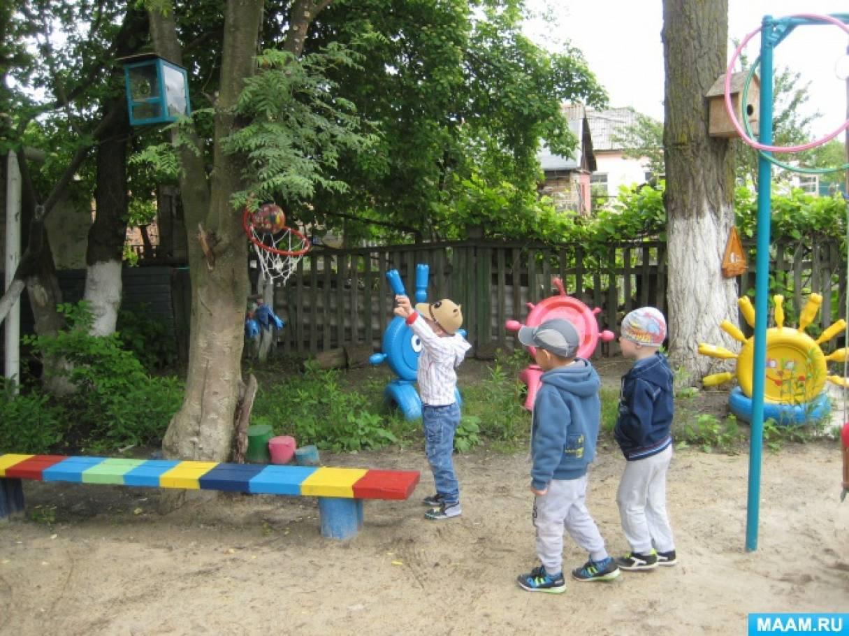 Тематические площадки в детском саду своими руками 69
