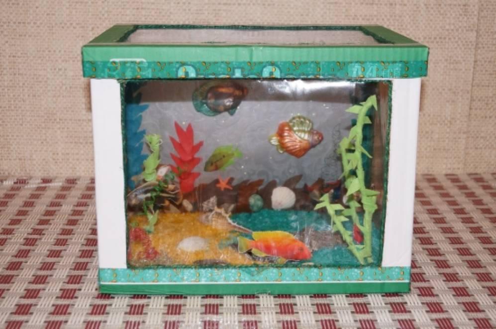 Поделки в аквариум своими руками