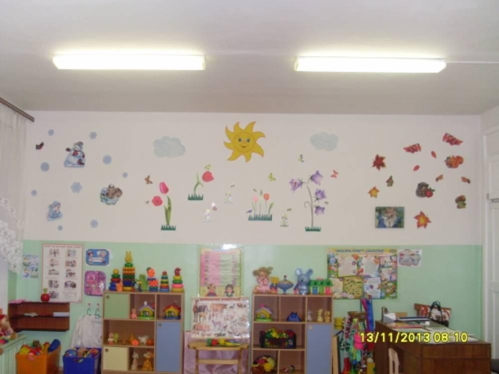 Оформление центральной стены нашей группы