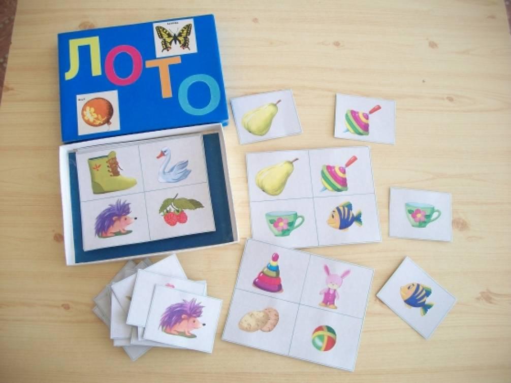 Игры для детей младшего дошкольного